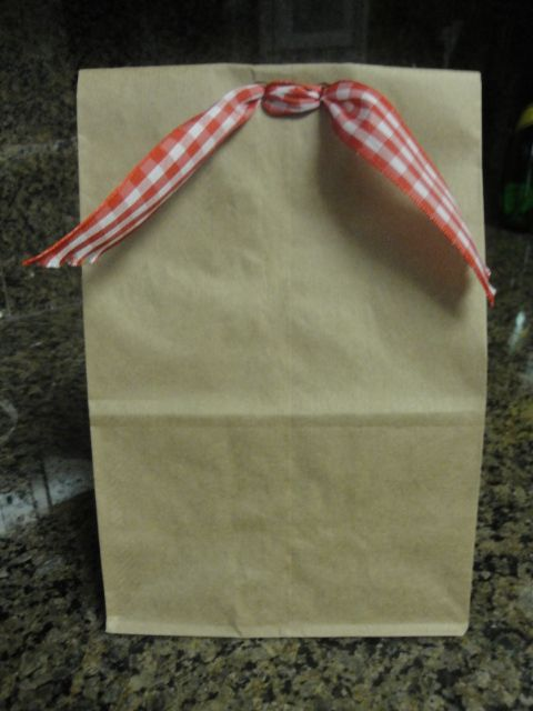 Gift Bags And Cookies For Teachers