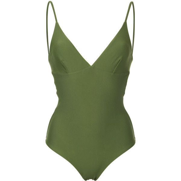 13f37ab99d Matteau The Plunge Maillot swimsuit (435 NZD) found on Polyvore featuring  women s fashion