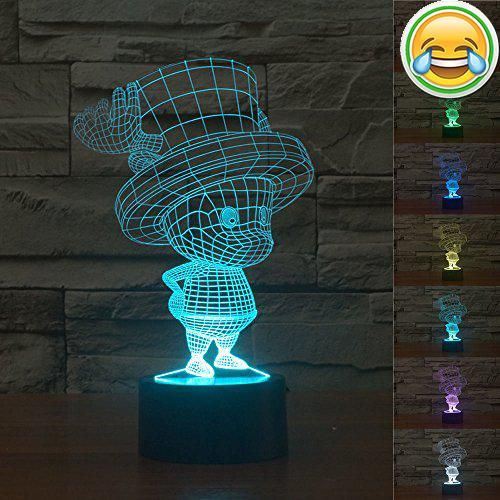 Price Tracking For Superniudb 3d Anime One Piece Reindeer Acrylic 3d Led Usb Night Light 7 Color Change Led Table Lamp Xmas Toy Gift Price History Chart And Lamp