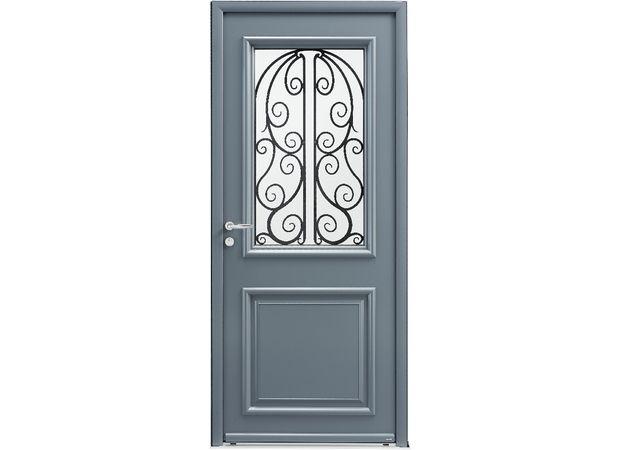 Les portes d\u0027entrée métalliques