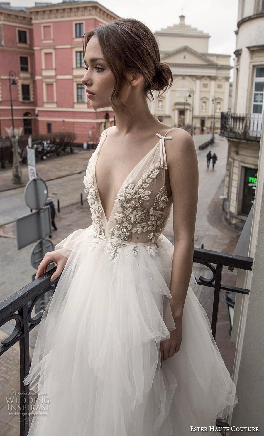 Ester Haute Couture 2018 2019 Wedding Dresses Wedding Inspirasi Wedding Dresses Lace Black Wedding Dresses Wedding Dresses