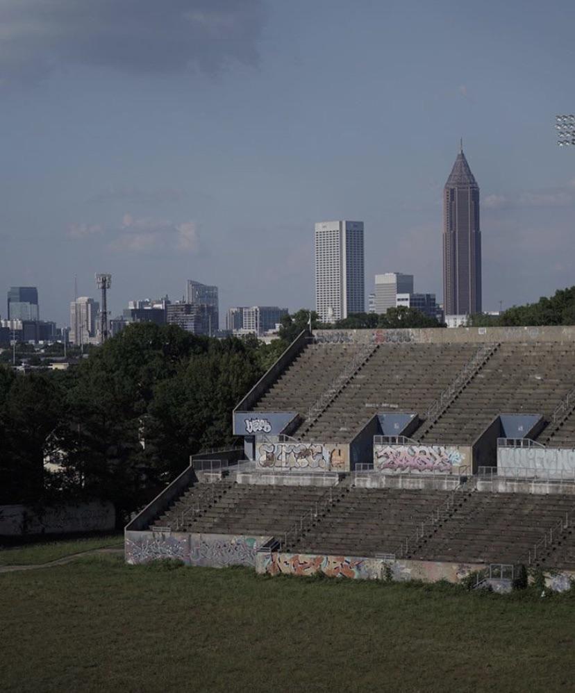 Abandoned Stadium Right In Downtown Atlanta