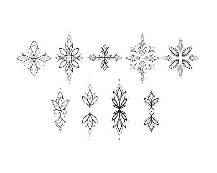 Свободные орнаменты 〰️ Также можно сделат... - Blumen Tattoos - #Blumen #Tattoos #можно #орнаменты #