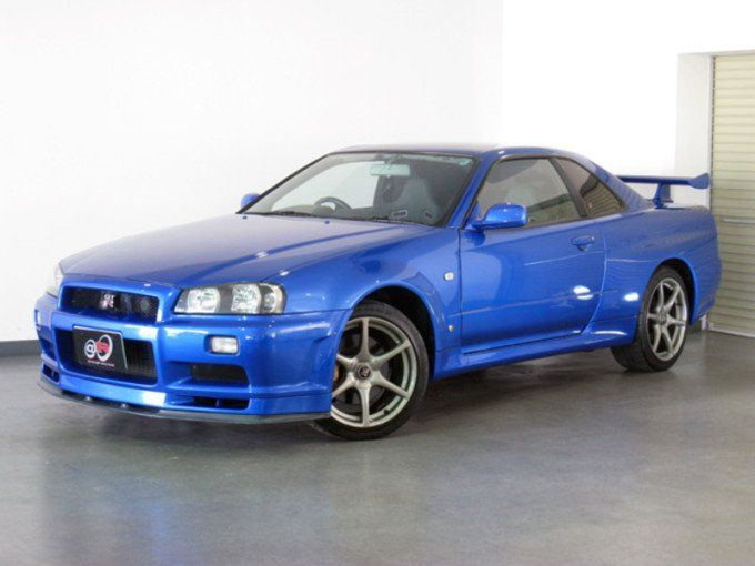 The 1999 Nissan Skyline R34 GT R Is A Sports Car But The Makers Never