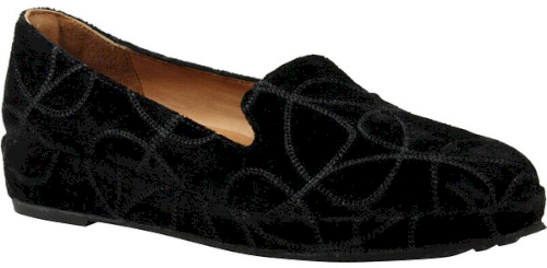 Soft Carsoli In Pieds Loafer Des Fabric Wedge L'amour BlackVelvety gbf6y7