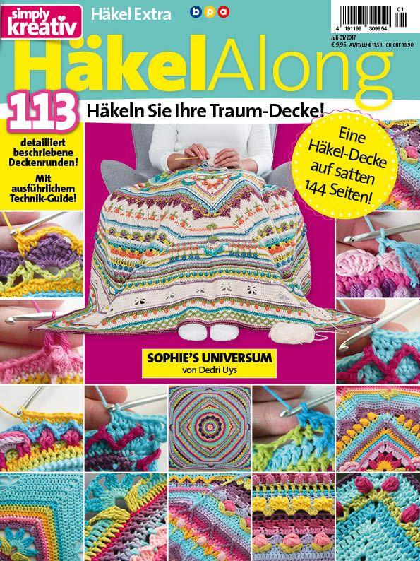 Häkel Along 01/2017 | Häkeln | Pinterest | Deckchen, Zauberhaft und ...