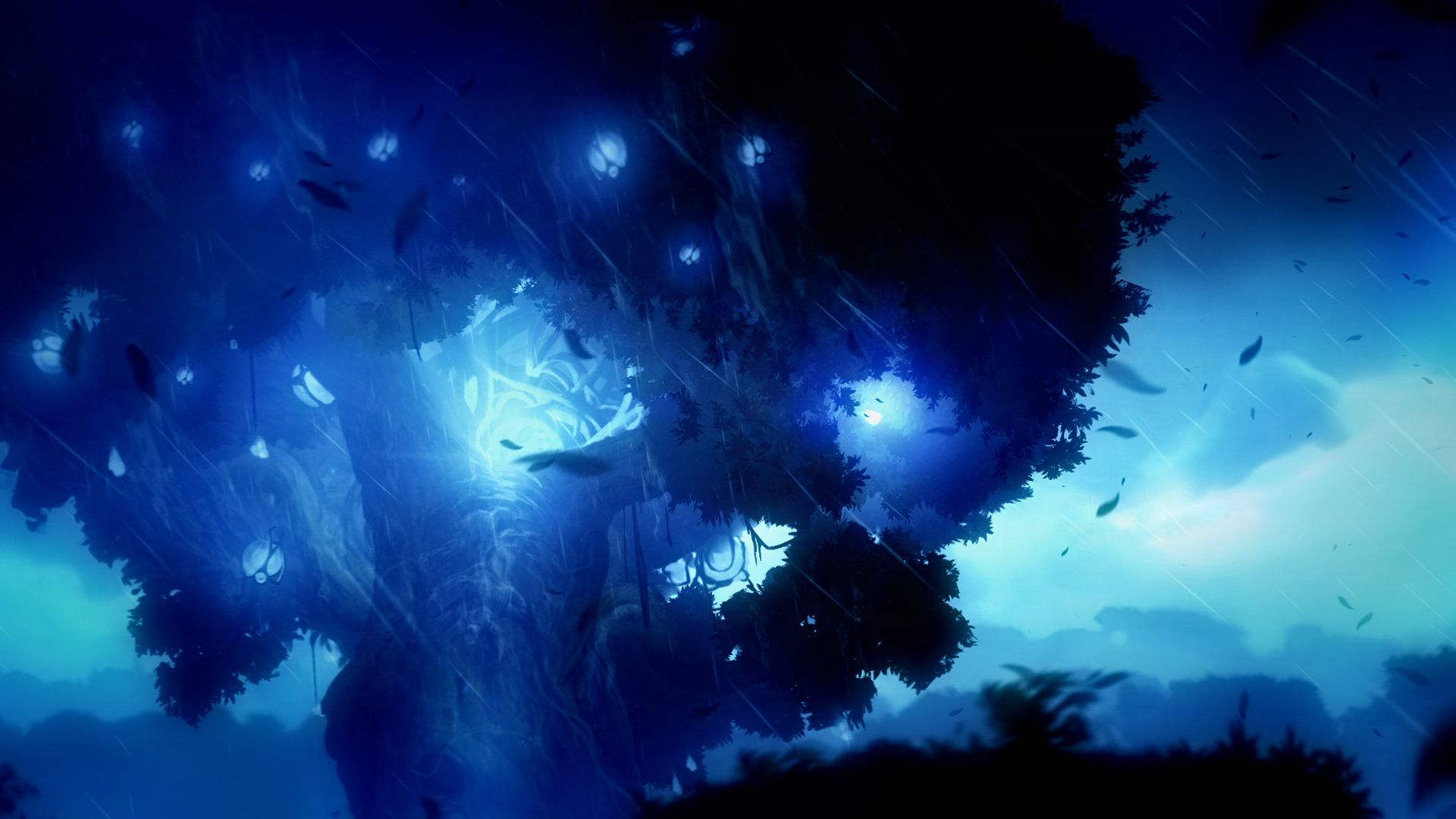 Ori And The Blind Forest Airborn Studios Environment Concept Art Concept Art Digital Painting Techniques