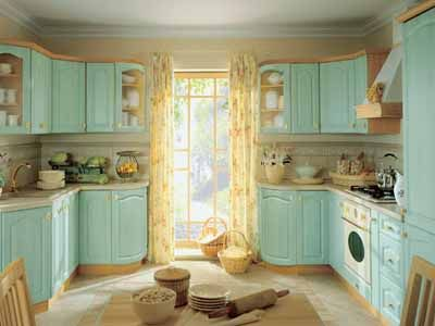 Light Blue Cabinets In Kitchen | ... And Light Blue Kitchen Colors Good  Feng Shui Modern Kitchen Design