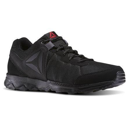 df52a2a9da3 Reebok DMX Lite Katak Men's Black Walking Shoes | Reebok ☆ Fitness ...