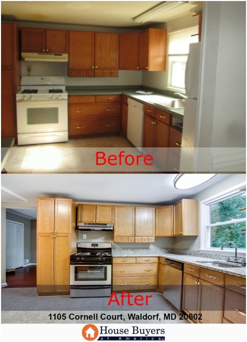 The After Kitchen A Fun Place To Cook Home Buying Kitchen Kitchen Cabinets