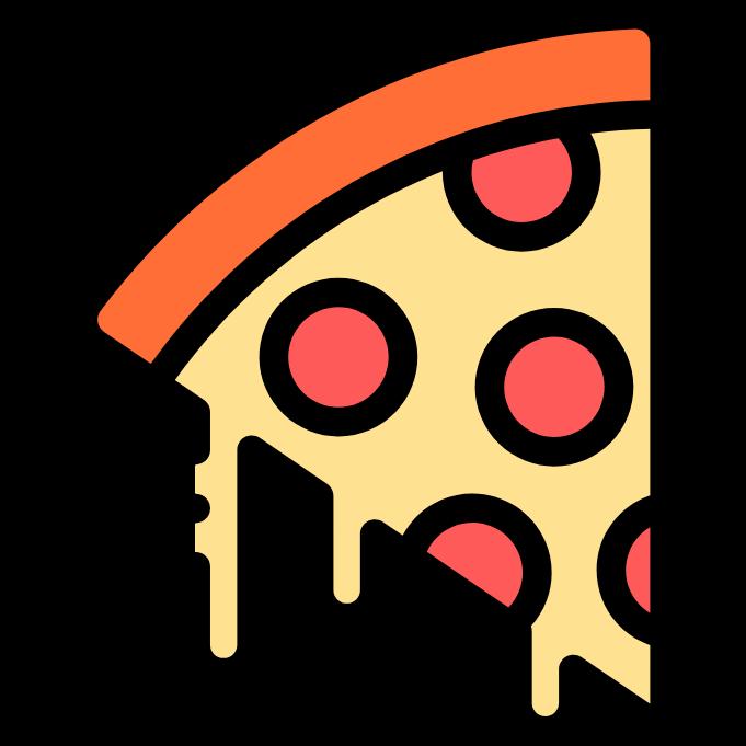 Pizza Slice Free Vector Icons Designed By Freepik Pizza Art Simple Cartoon Cute Kawaii Drawings