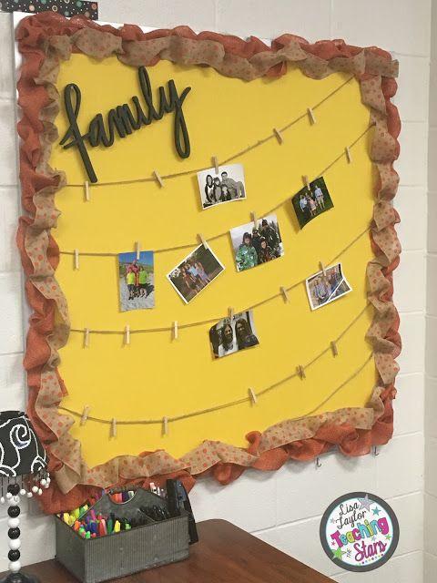 Classroom Board Decoration For Preschool ~ Back to school classroom decorations work in progress