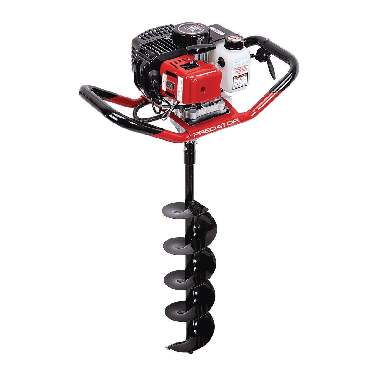 Gas Powered Earth Auger Harbor Freight Tools Post Hole Diggers Augers