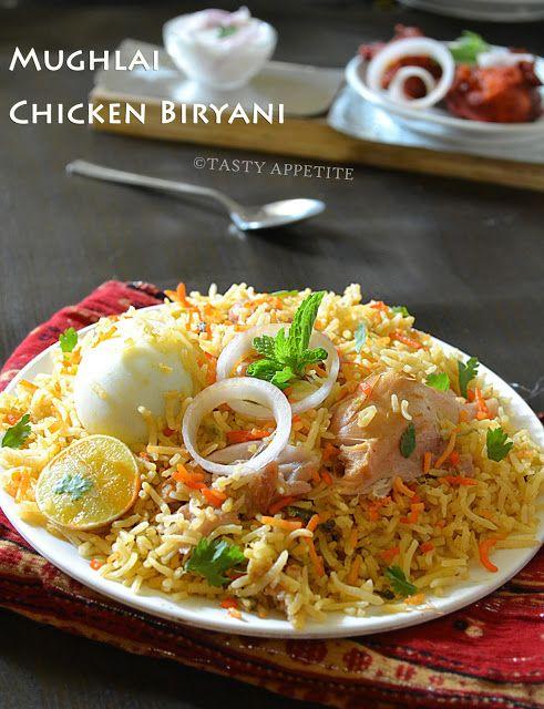 Tasty Appetite How to make Mughlai Biryani Mughlai
