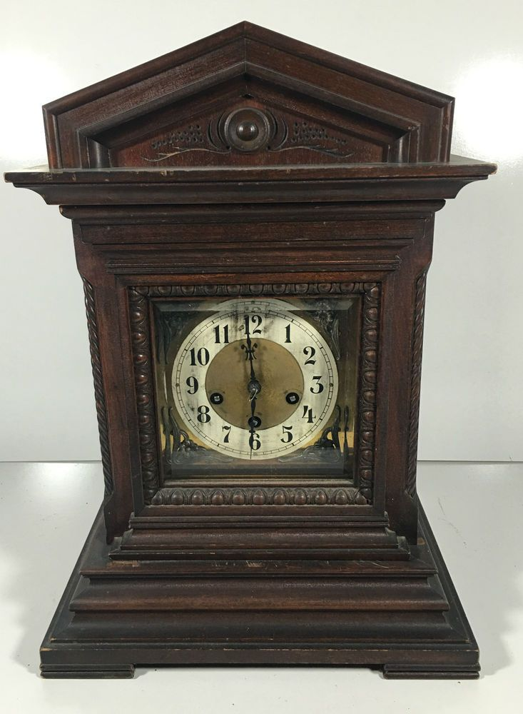 Antique Junghans B06 1900s Germany Mantle Shelf Clock