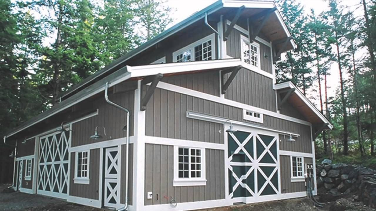 Spectacular Pole Barn Houses For Attractive Home Design: Board And Batten  Siding For Metal Barns With Window Treatments And Barn Door Styles Plus  Wall ...
