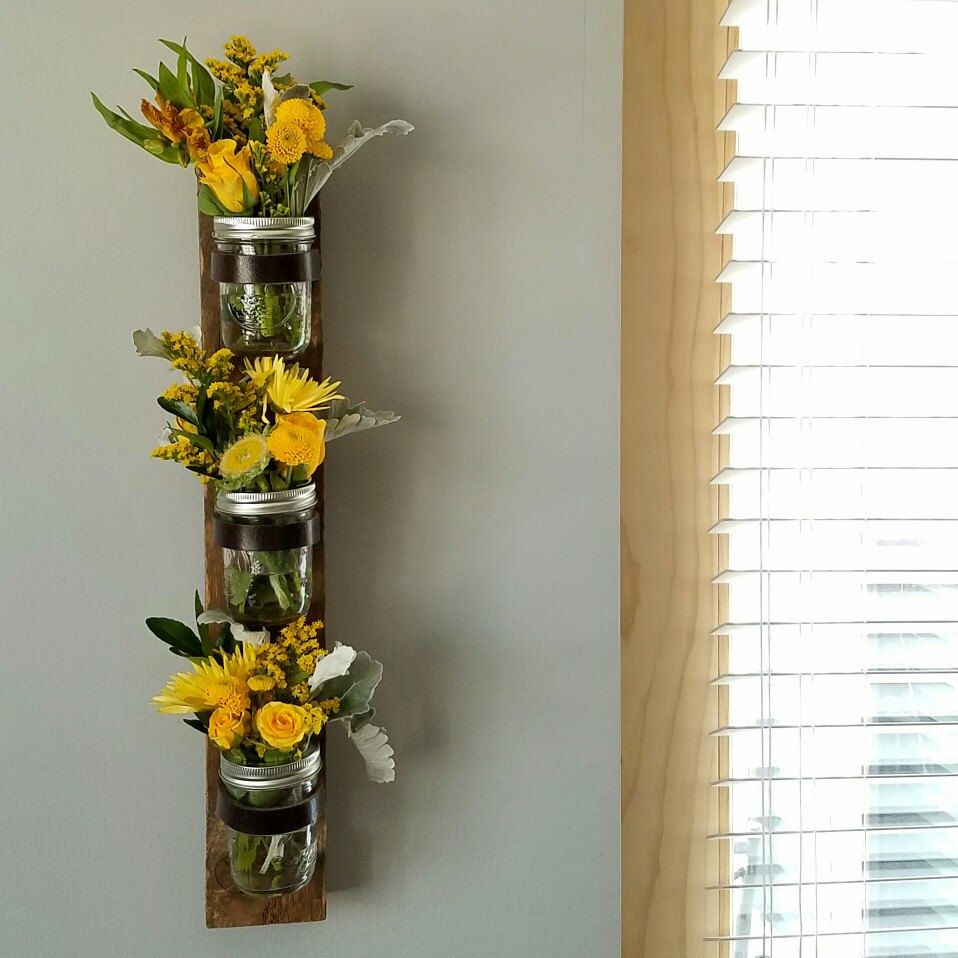New item available. Wall garden, flower vase, succulents ... on Candle Wall Sconces With Flowers id=90401