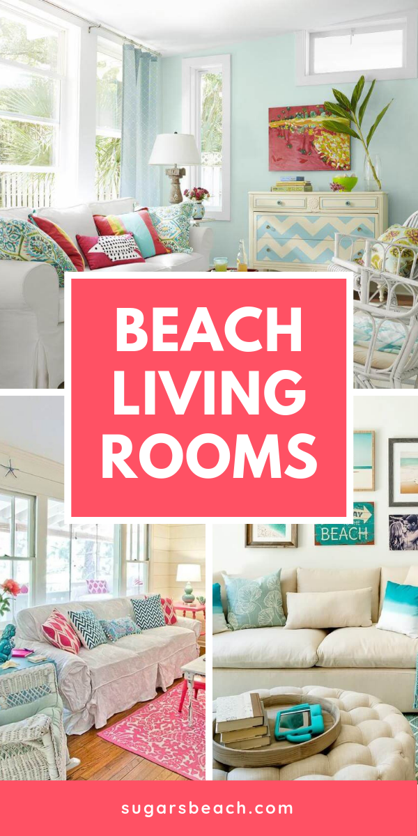 Beach Themed Living Rooms | Beach Living Room (beach living ...
