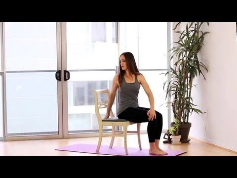 pinauntdd on workout lovin  chair yoga yoga fitness