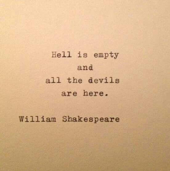 William Shakespeare Dark Place Inspirujące Cytaty