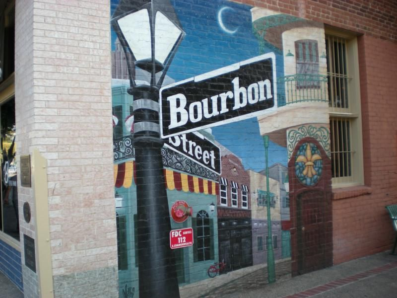 College and community night-time favorite: Bourbon Street in Downtown Fullerton