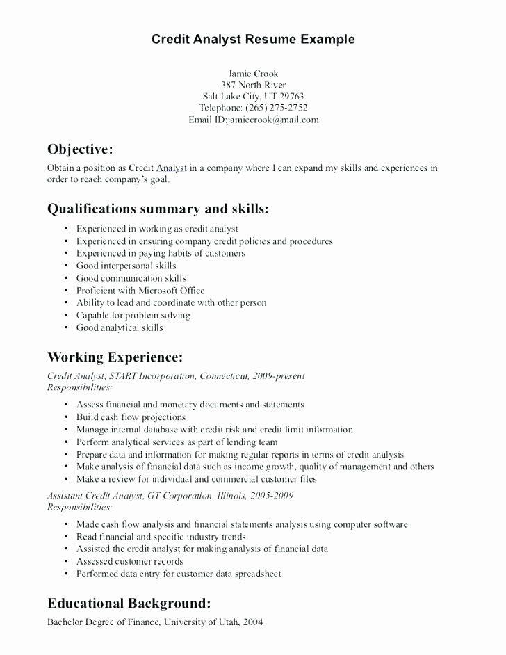 entry level business intelligence analyst resume