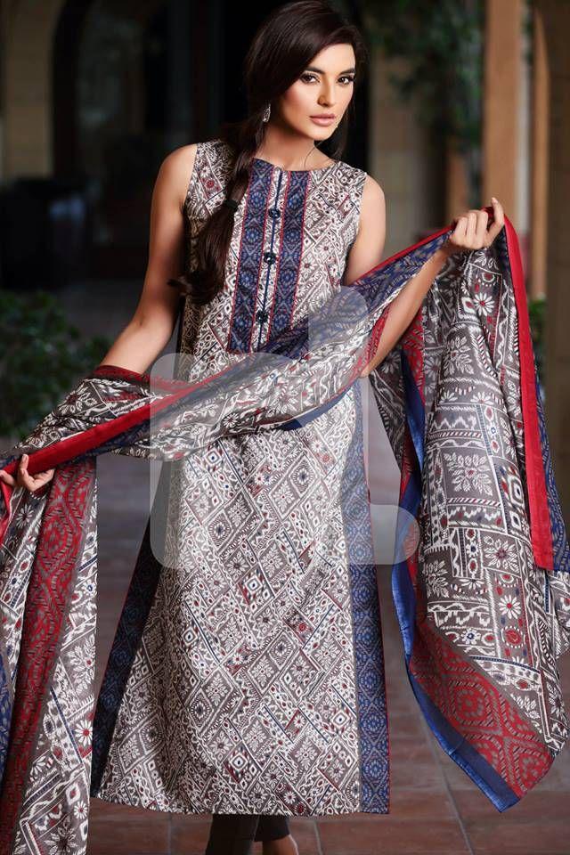 51b1bccf12 Nishat Linen Sawan Range 2015-16 NL Saavan Collection (2) | neck ...