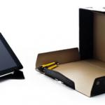 DIY iPad Cardboard Stand