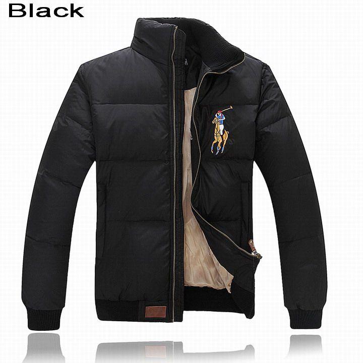 Polo Ralph Lauren Men Multicolor Big Pony Feather Down Jacket Black Polo Outfit Ralph Lauren Blazer Mens Jackets
