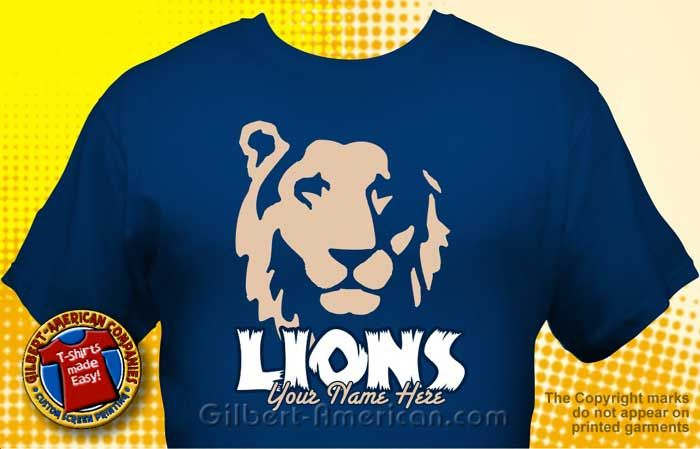 School Tshirt Design Ideas | Lion Mascot T Shirt Design Ideas :: School  Spirit
