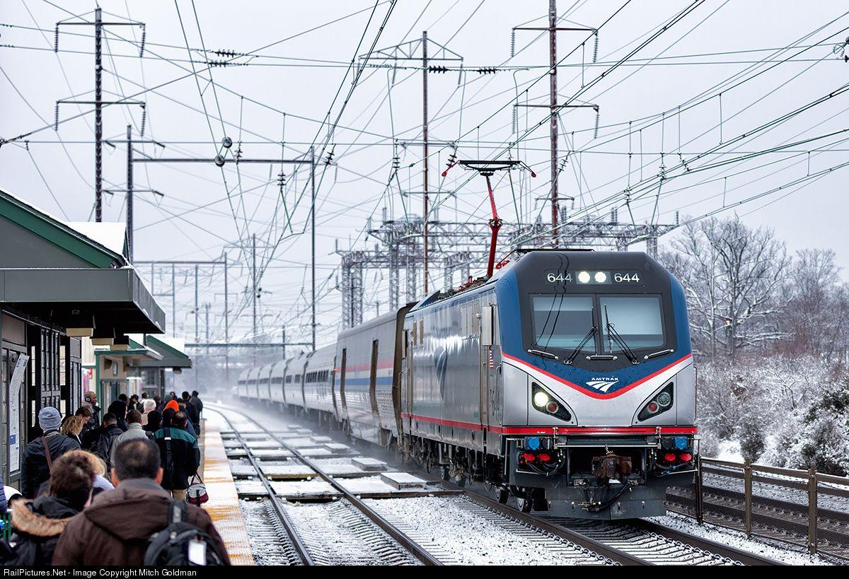 Photo AMTK 644 Amtrak Siemens ACS64 at