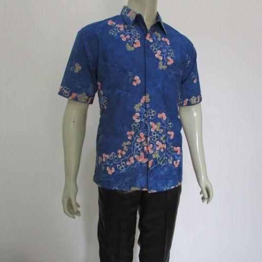 Batik Modern Model Kemeja Pria Lengan Pendek Yang Keren Dari Jenis