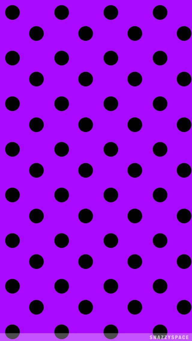000000large purple blackg 6401136 pixels polka dot black polka dots on hot pink from snazzyspace voltagebd Image collections