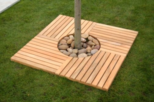 Decking tree surround
