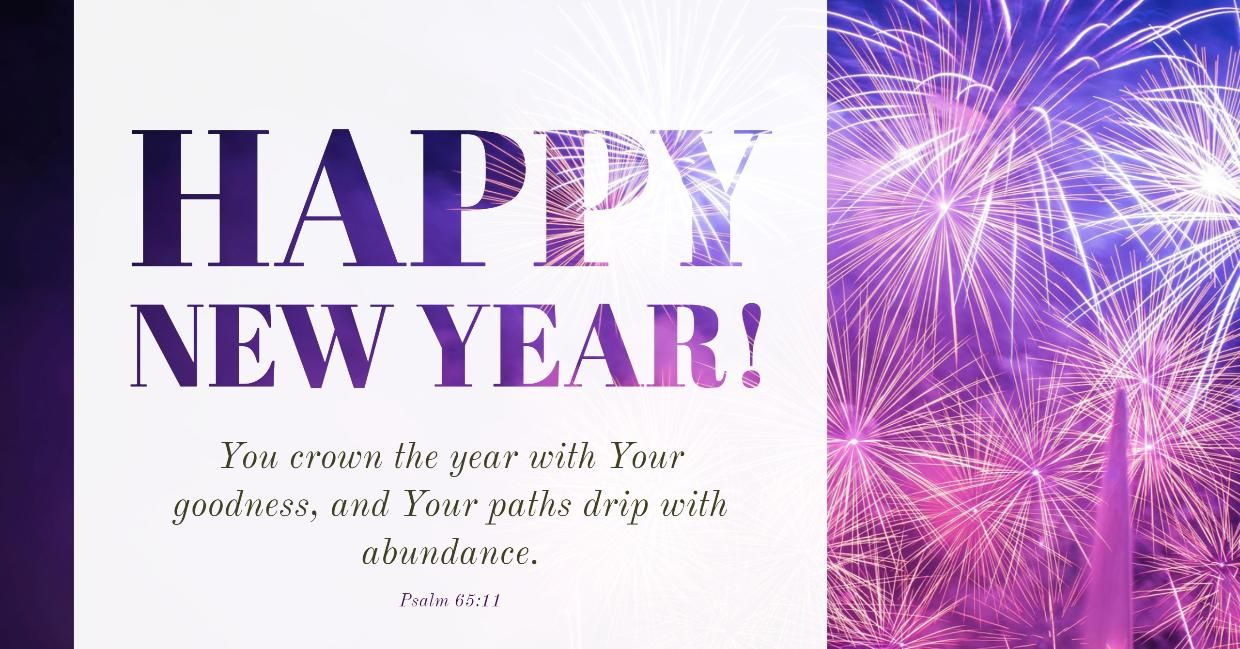 May God fill this year with many blessings, love and abundance for ...