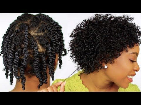 How To Moisturized And Defined Twist Out On Short Natural Hair Step By Step Tutorial Natural Hair Twist Out Natural Hair Twists Short Natural Hair Styles