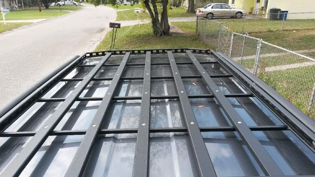 Homemade Roof Rack Between Factory Runners Http Forum