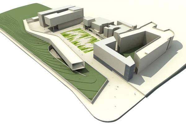 Landscape Architecture Digital 3d Model Of Bgu University