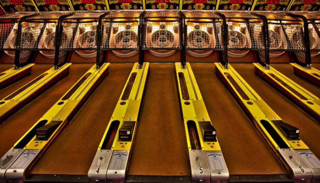 Image result for skeeball Skee ball, Lincoln park, Ball