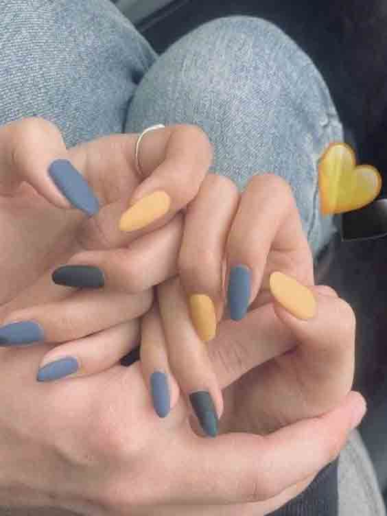 Top 41 Trending Nails Designs For Summer 2019 Nailed It Nailartswag Nailartclub Nail Fungus Nail Colors Cute Acrylic Nails Cute Nails Gel Nails