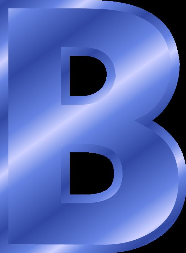 Download Letter B Color Blue Clipart Letter Alphabet Clip Art Lettering Alphabet Clipart Letters Letter Icon