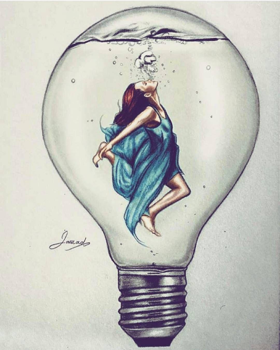 Absolutely beautiful very creative by jawadalghezi art follow us and artofdrawingg