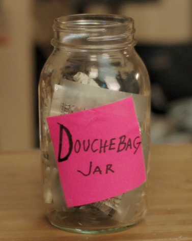 """Go put a dollar in the jar right now!"" - New Girl"
