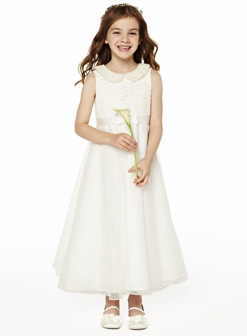 Freya ivory lace dress child dresses young bridesmaids freya ivory lace dress child dresses young bridesmaids wedding bhs ombrellifo Images