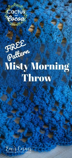 Free Crochet Blanket Or Throw Pattern And I Love This Redheartyarns