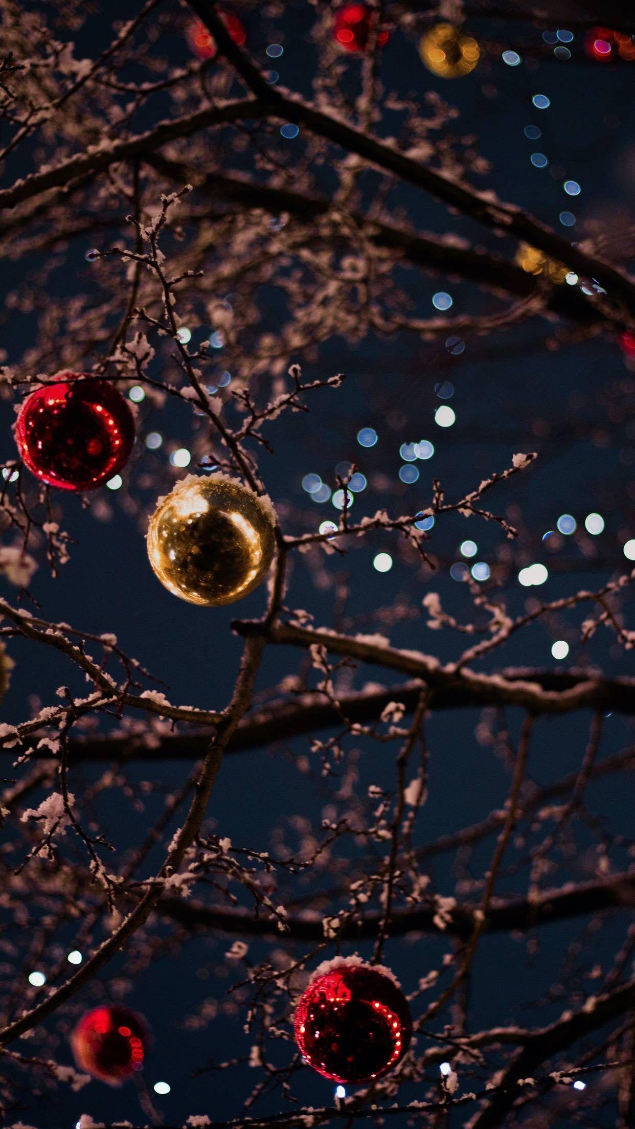 Vellum wallpaper app Świąteczne tła, Bożonarodzeniowa