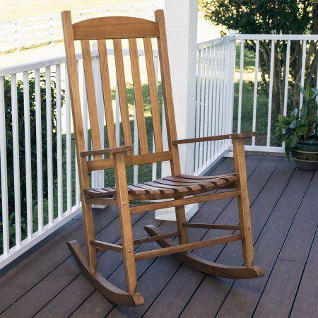 Walmart Outdoor Rocking Chair Power Lift Repair Mainstays Natural Wood Slat Com