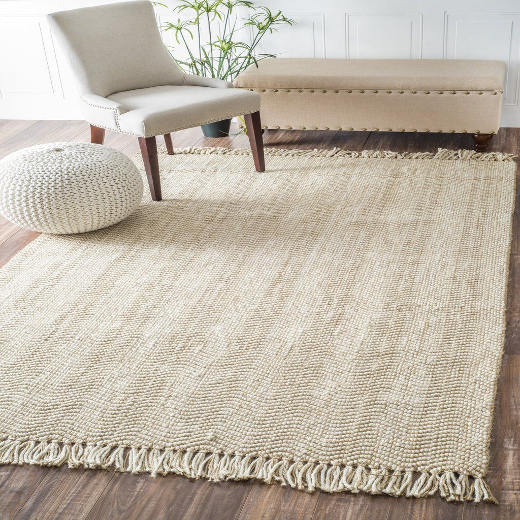 Hand Woven Don Jute With Fringe Rug Affordable Area Rugs Rustic Area Rugs Rugs In Living Room
