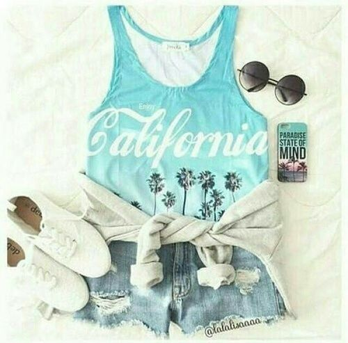 Image de fashion, california, and outfit