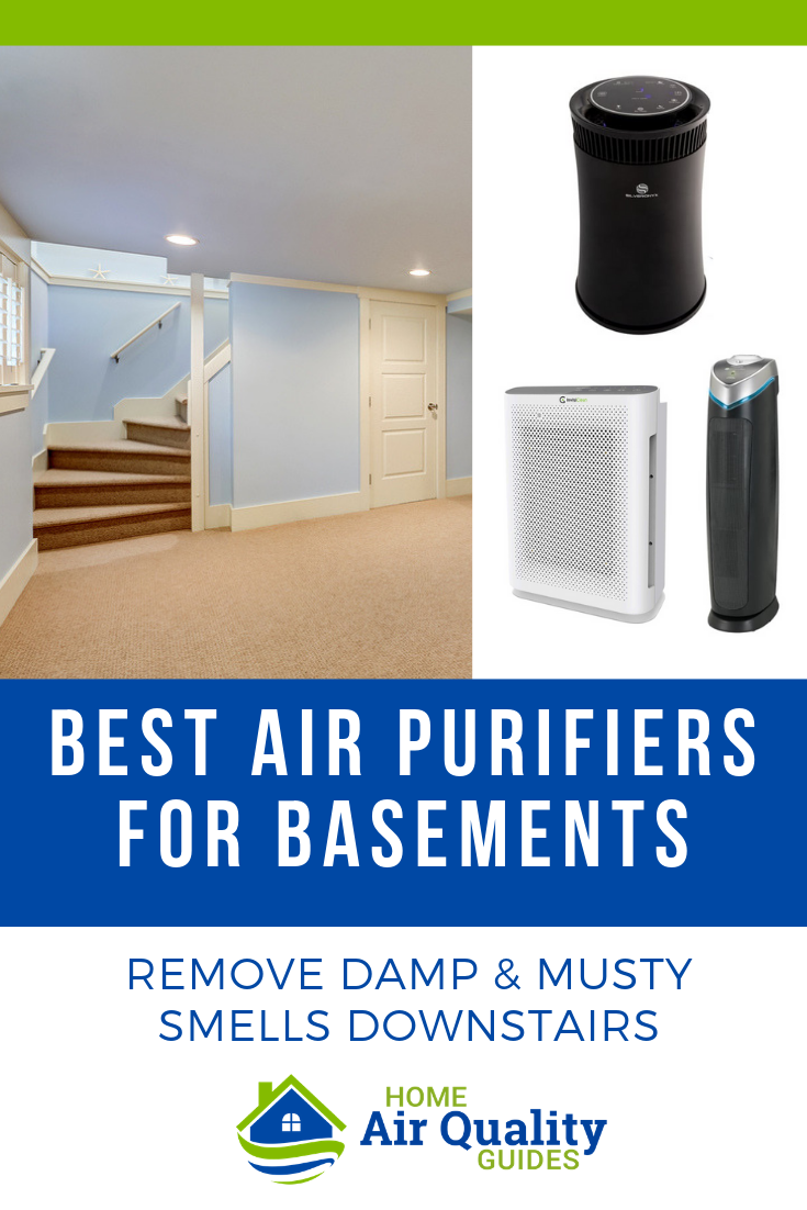 Best Air Purifier for Basement (Large & Small, Finished